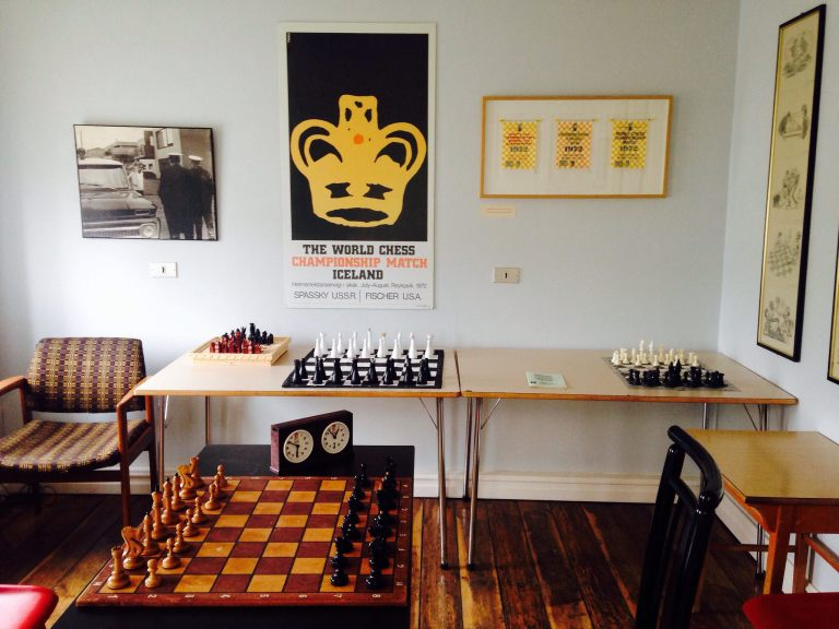 The Bobby Fischer Center in Selfoss, Iceland