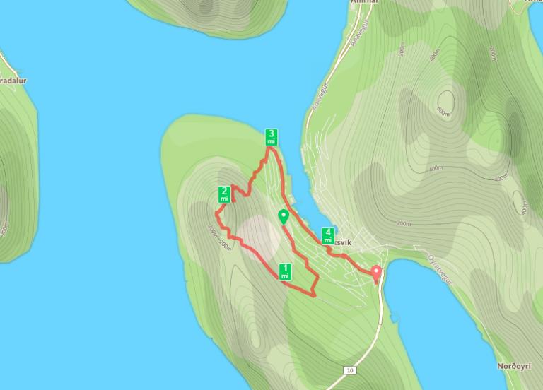 Hiking on Borðoy